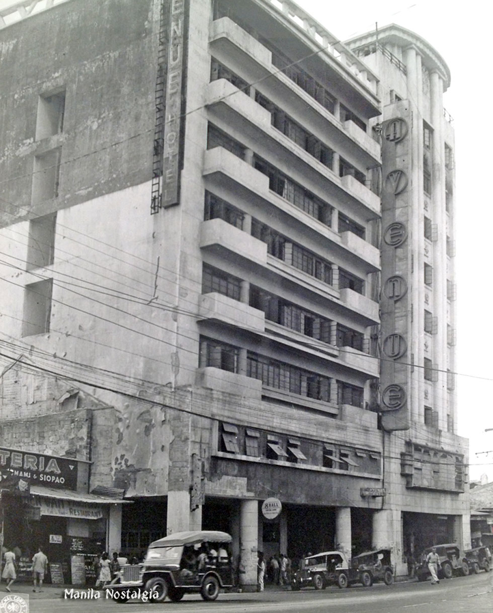 Avenue Hotel and Theater-1945