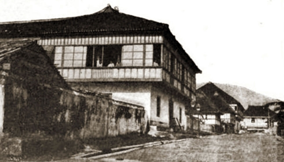 Residence of Deodato Arellano on Azcarraga (now Claro M. Recto Avenue), near Elcano Street, Tondo district, birthplace of the Katipunan.