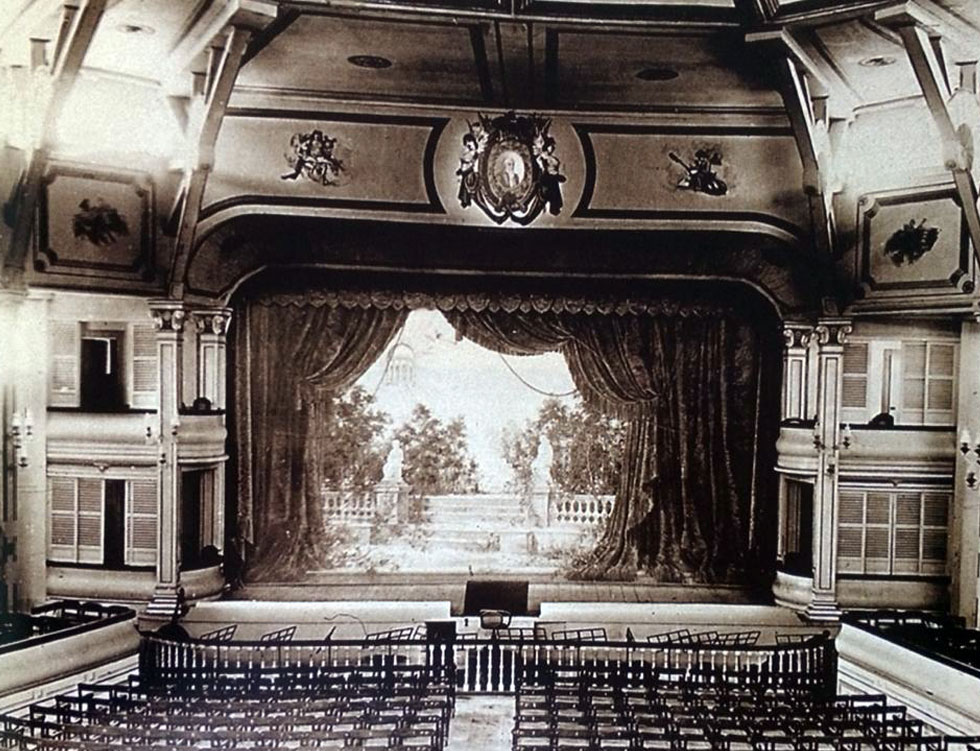 Interior of Teatro Zorilla-1893